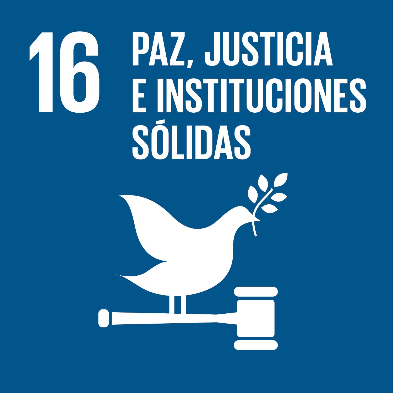 ODS 16.Paz justicia e instituciones sólidas